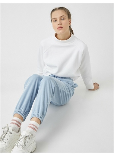 Koton Materiel: %80 Pamuk, %20 Polyester,Gender:Kadın Mavi